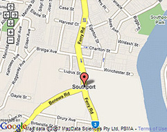 Address will be shown on map